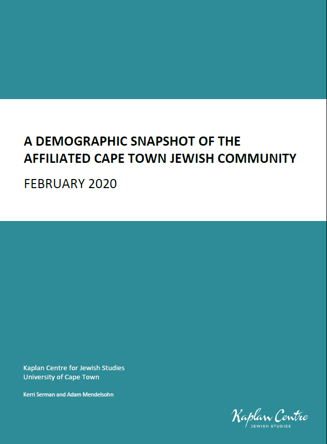 A Demographic Snapshot of the Cape Town Jewish Community